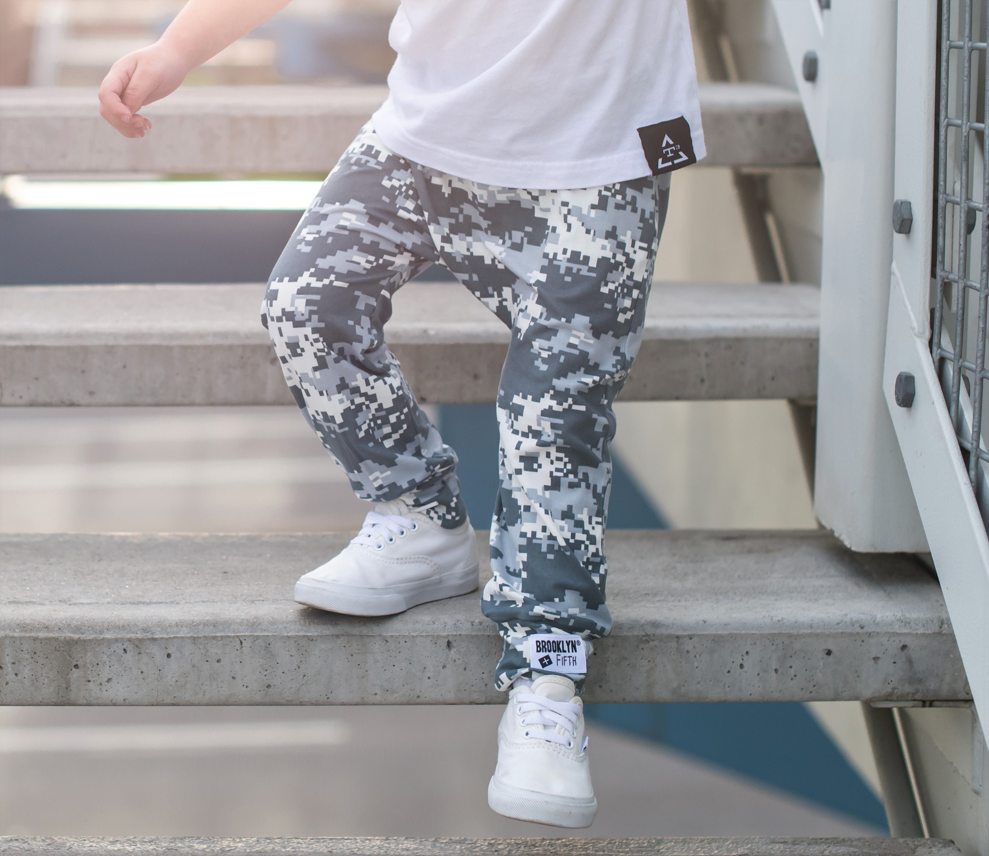 [Harem Pants] - Brooklyn + Fifth Toddler Camo Harem Pants. Stylish Toddler Pants. Camo Pants for boys. Soft toddler Pants. Infant Camo Pants. Baby Pants. Baby Camo Pants. Kids Pants. Made in the USA!