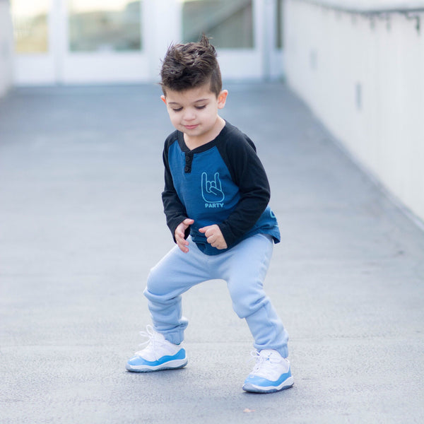 Light Blue City Comfort Toddler Joggers - 18/24M Only