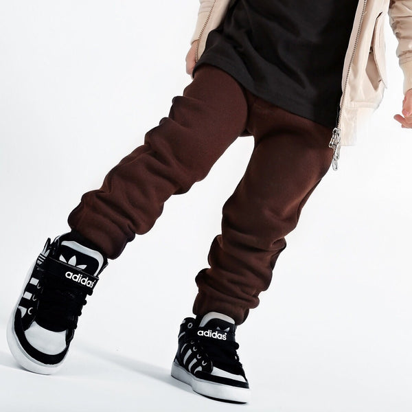 Brown City Comfort Toddler Joggers