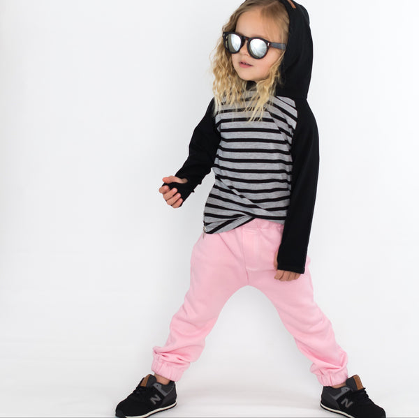 Pink City Comfort Toddler Joggers