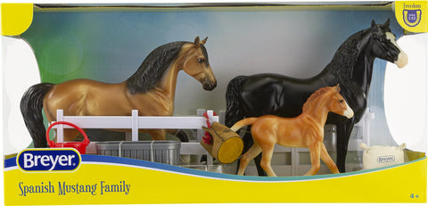 Breyer Freedom Series Spanish Mustang Family 3 pce set