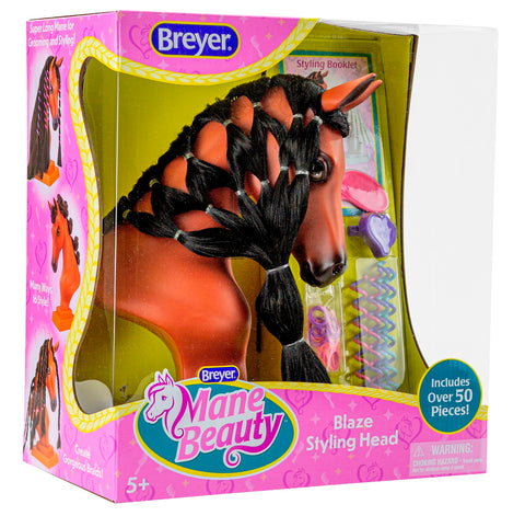Breyer Mane Beauty Styling Head-Blaze