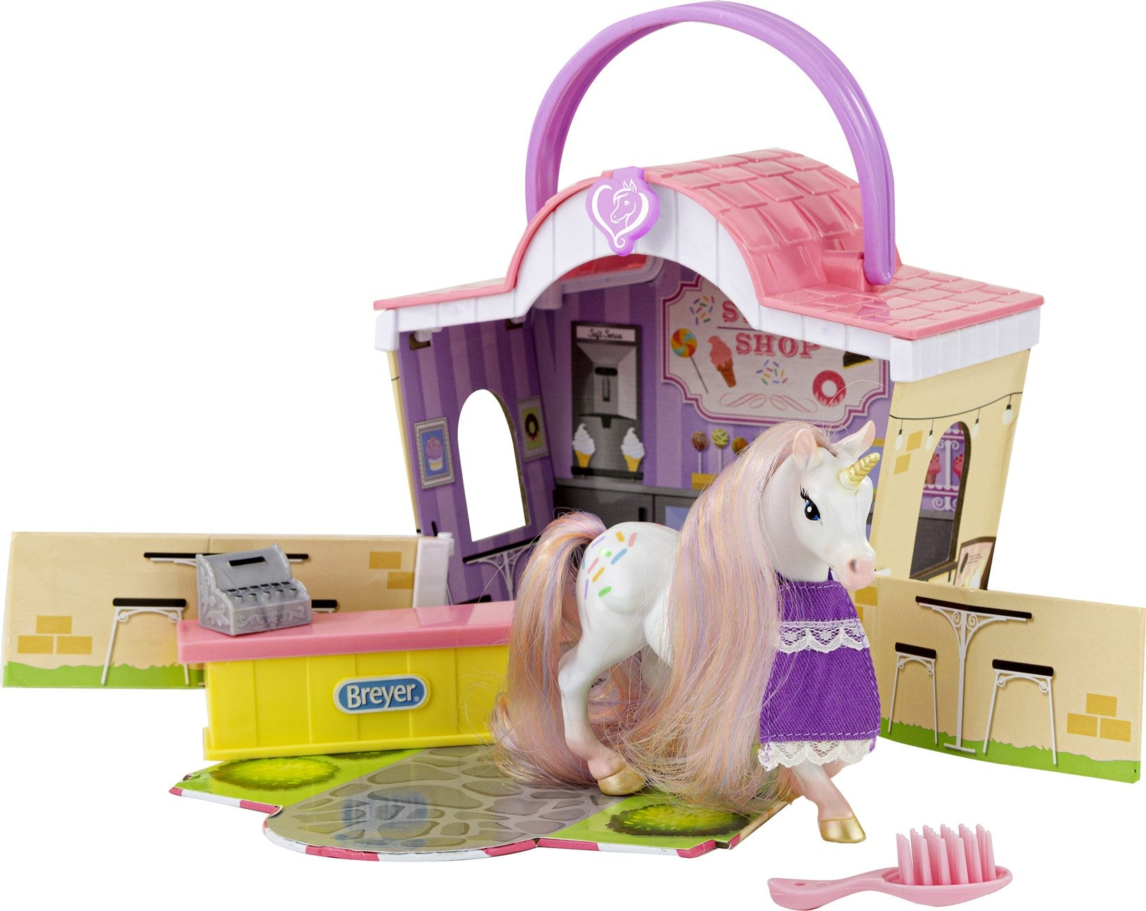 Breyer Mane Beauty Li'l Beauties Playset - Sprinkles Sweet Shop
