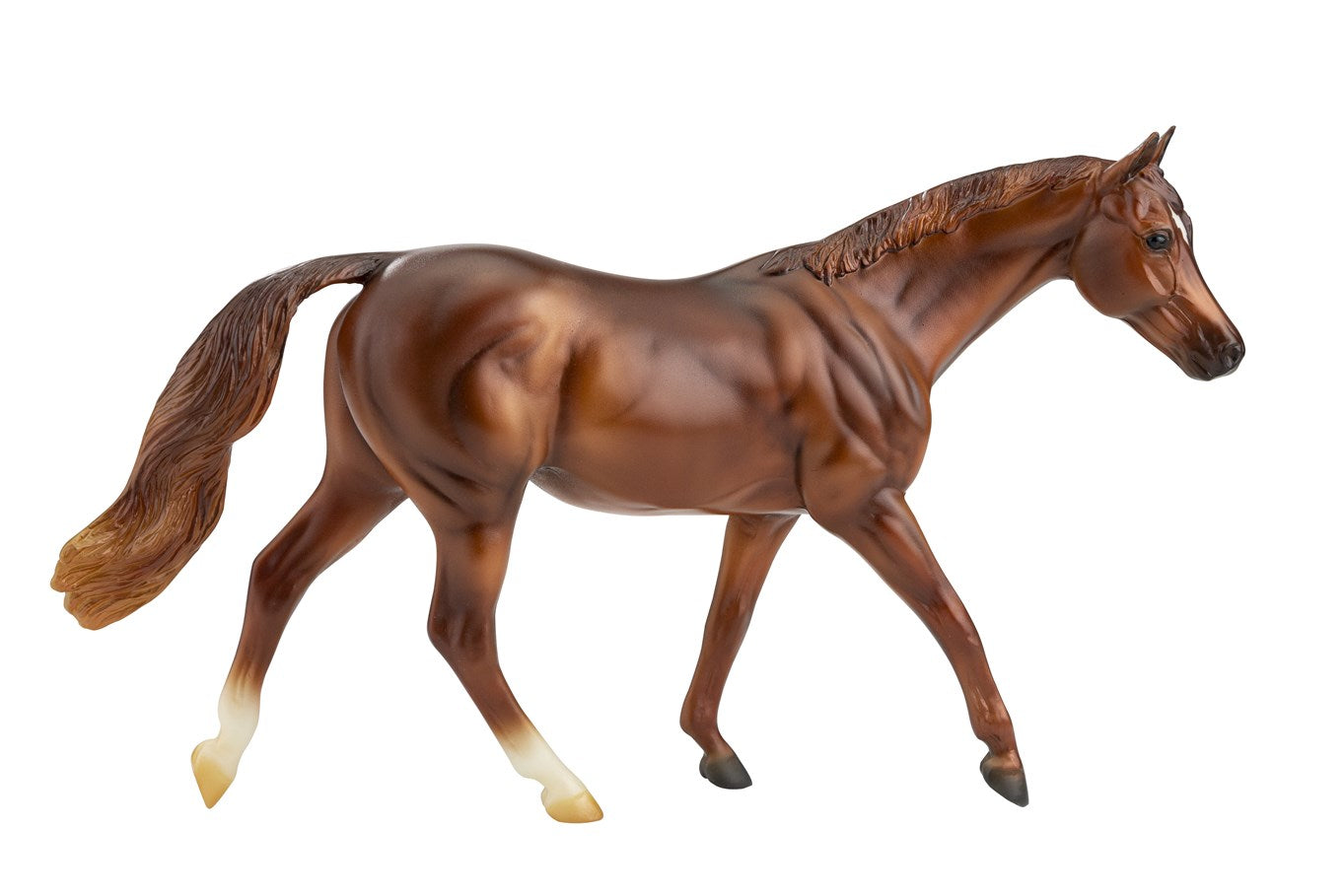 Breyer Freedom Coppery Chestnut Thoroughbred