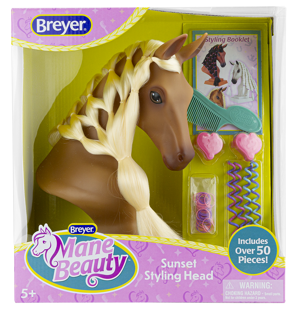 Breyer Mane Beauty Styling Head-Sunset