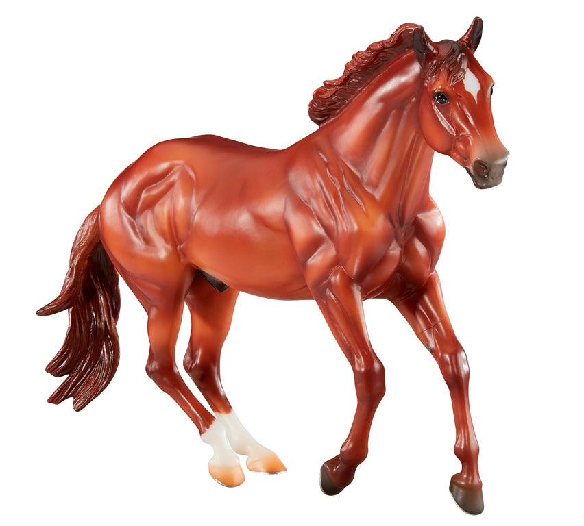 "Breyer Traditional Sir Rugger Chex ""Checkers"""