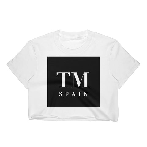 The Daniela TM x Spain Crop Top