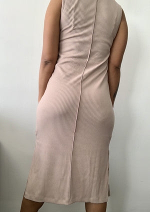 Taupe Erykah Dress