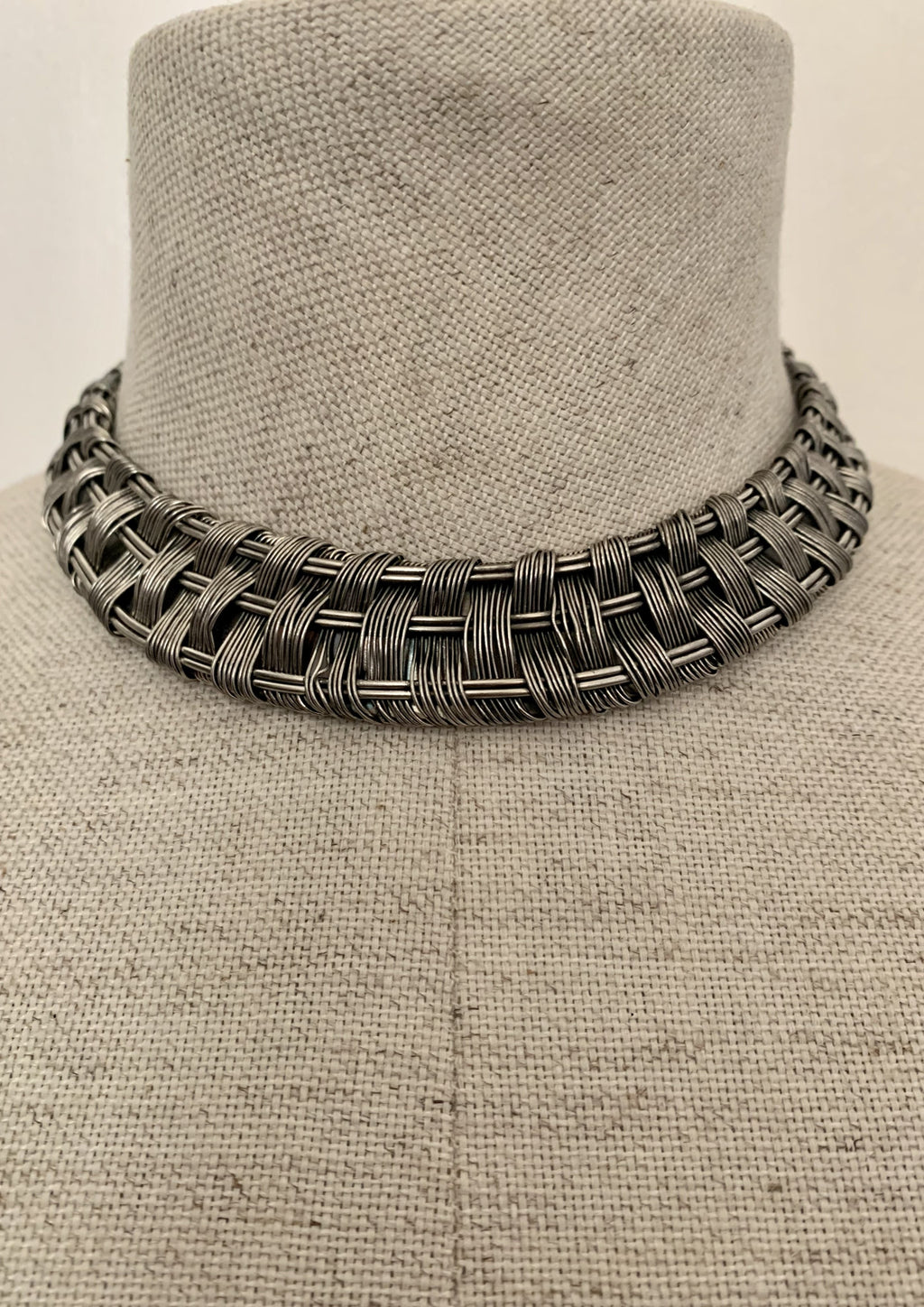 Traditional Basketweave Choker