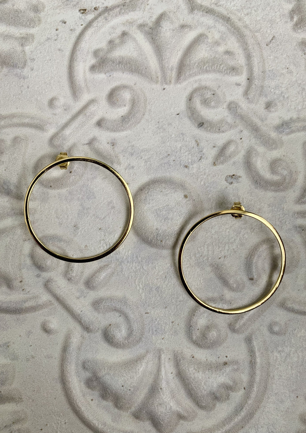 Erica Hoop Earrings