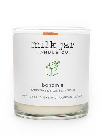 Milk Jar Candle Co. - Bohemia