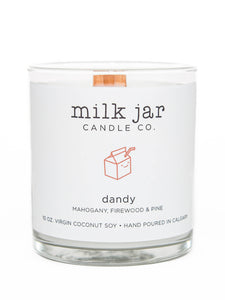 Milk Jar Candle Co. - Dandy