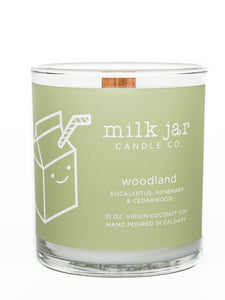 Milk Jar Candle Co. - Woodland Essential Oil Blend