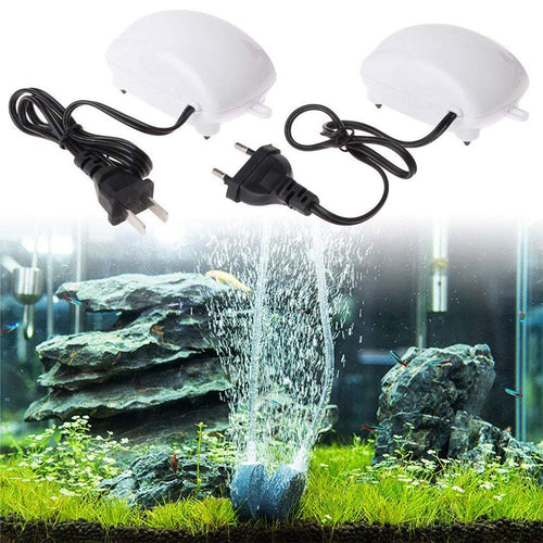 Low Noise Efficient Aquarium Oxygen Pump Fish Tank Air Stone Bubble Fish Tank Increasing Oxygen Pump For aquarium accessories