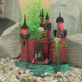 Air Driven Royal Castle Dynamic Ornament Fish Tank Aquarium Decoration Landscape