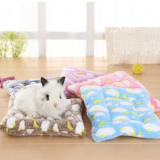 Small Animal Guinea Pig Hamster Bed House Winter Warm Squirrel Hedgehog rabbit Chinchilla Bed mat House Nest Hamster Accessories