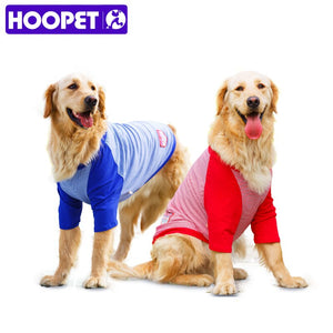HOOPET Pet Vest Shirt Summer & Spring Sailor's Striped Shirt T-shirt Vest Cotton Big Dog Cotton Breathable Lovely