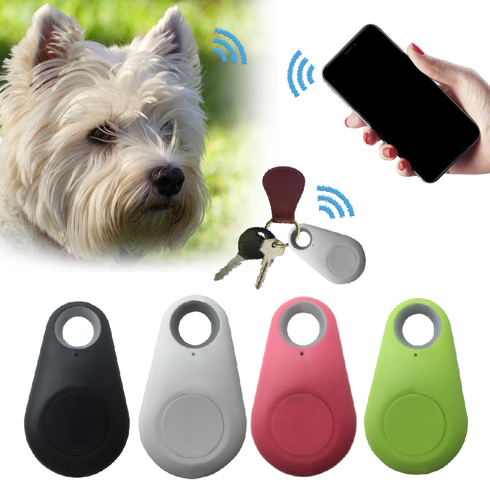 Pets Smart Mini GPS Tracker Anti-Lost Waterproof Bluetooth Tracer For Pet Dog Cat Keys Wallet Bag Kids Trackers Finder Equipment