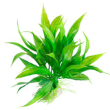 Plastic 15cm Artificial Green grass Water Plant Grass for Aquarium