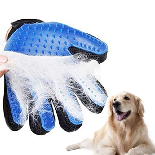 Silicone Dog Pet Grooming Glove For Cats Brush Comb Desheddin Hair Gloves Dogs Bath Cat cleaning Supplies Dog  Animal Combs