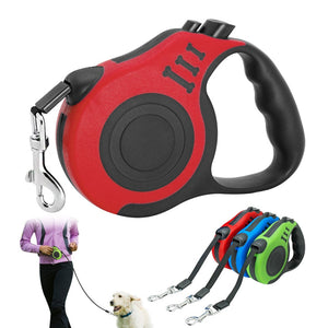 3M/5M Retractable Dog Leash Automatic Dog Puppy Leash Rope Pet Running Walking Extending Lead For Small Medium Dogs Pet Products