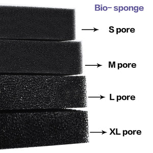Practical Biochemical Cotton Sponge Aquarium Filter Fish Tank  Pond Black Foam Sponge  Tank Filter accessories