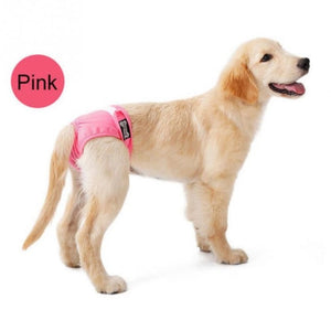 New Female Diaper Underwear Dog Pet Supplies Washable Reusable Sanitary Pants Anti Harassment