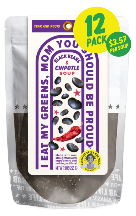 Black Beans & Chipotle Soup 12-Pack