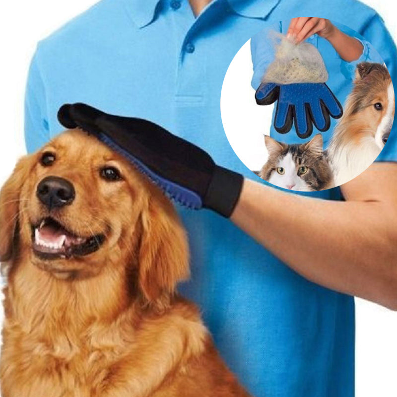 Multi Purpose Pet Brush and Massage Glove