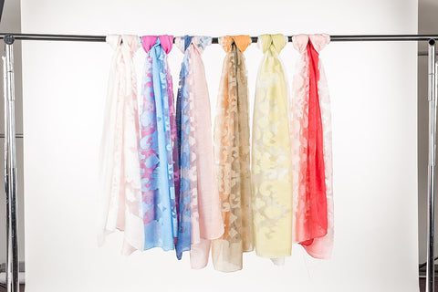 Scarf Poly Rayon 6 Pack OS