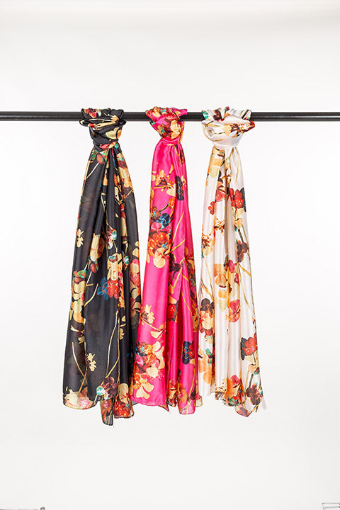 Scarf Poly Rayon 3 Pack OS