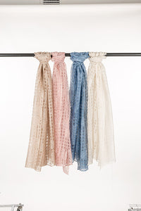 Scarf 4 Pack Poly Rayon OS