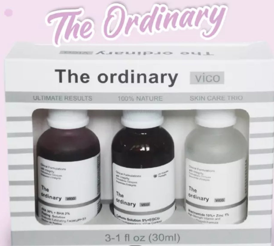 The Ordinary Vico 3 in 1