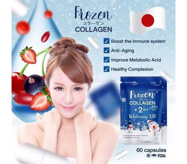 Frozen collagen whitening  capsules - Liquidation Cart