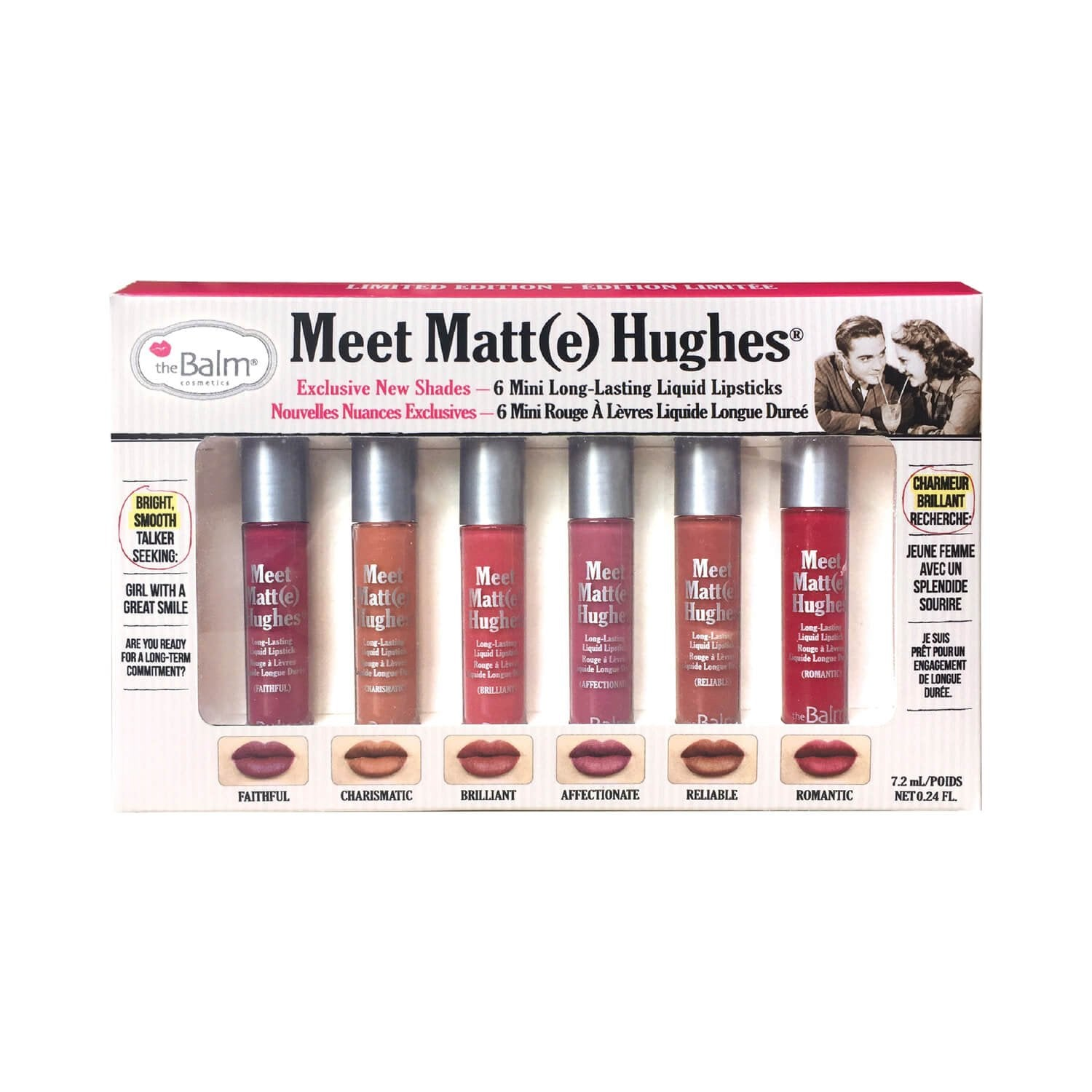 theBalm Meet Matt Lipsticks - Set of 6 - Liquidation Cart