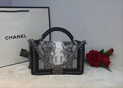 Chanel Designer Snake Skin Handbag - Liquidation Cart