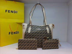Fendi hand bags set with Clutch and Wallet - Liquidation Cart