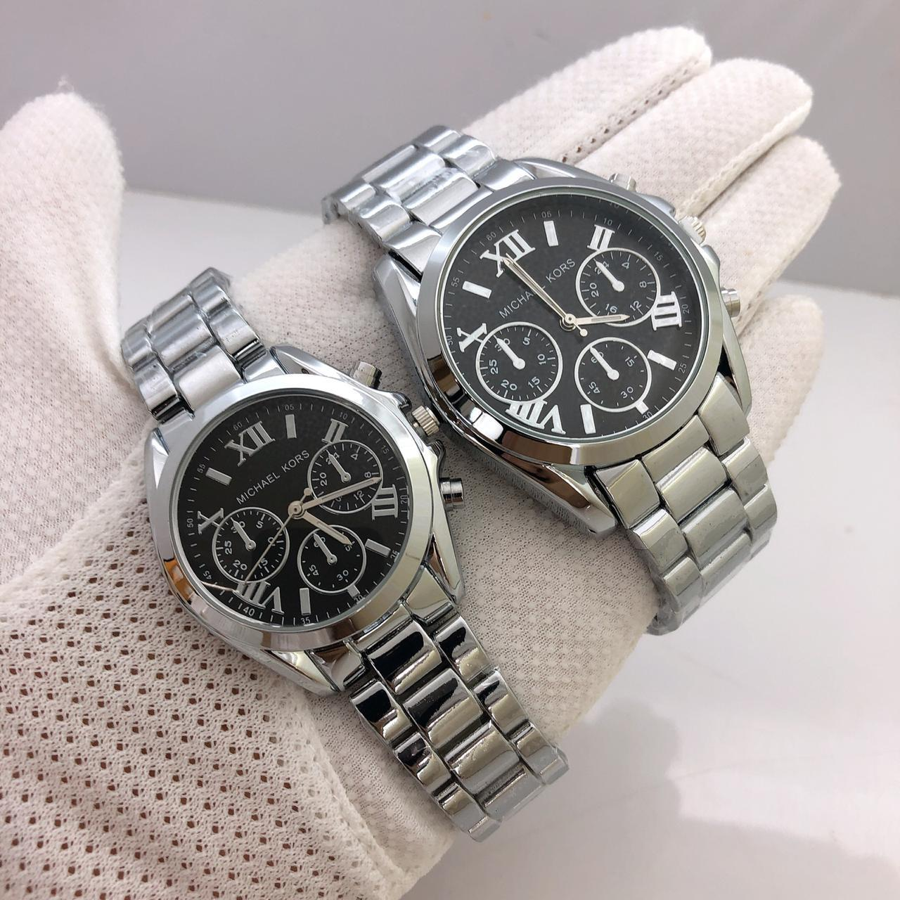 MK Couple Luxury Watches Set