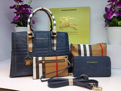 Burberry Designer Hand Bag full Set