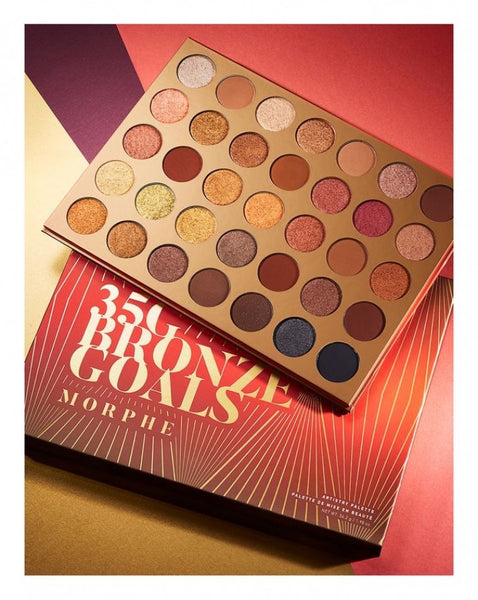 Morphe Bronze Goals 35G Eyeshadow Palette - Liquidation Cart
