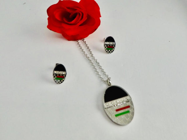 Gucci Pendant Chain Necklace with Tops/Earrings