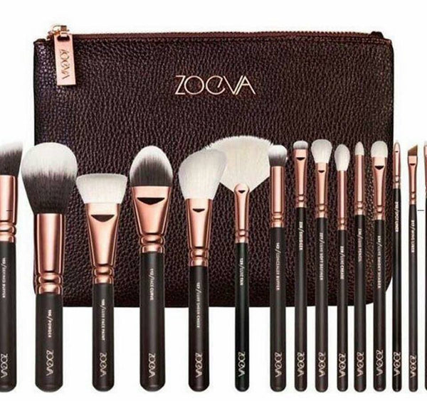Zoeva Rose Golden Complete Brush Set - (15 Pieces) - Liquidation Cart