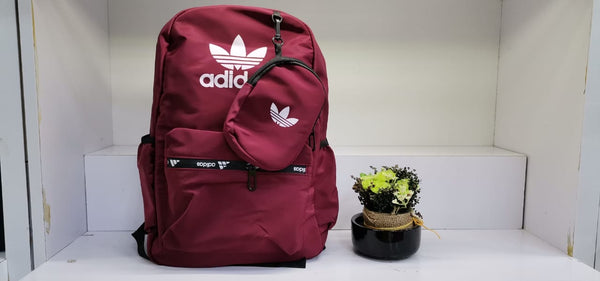 Adidas Back pack with pouch