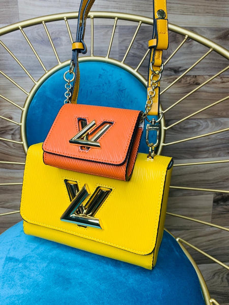 LV Stylish Premium Quality Attached Wallet