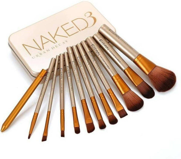 Urban Decay Naked 3 Brushes - Set of 12 - Liquidation Cart