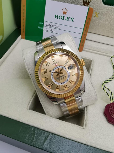 Rolex Oyster Perpetual Sky-Dweller, Gold