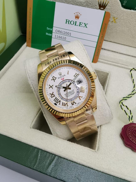 Rolex Oyster Perpetual Sky-Dweller, White Dial