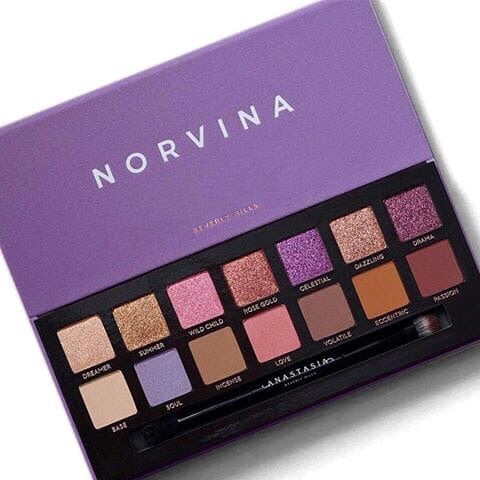 Anastasia Norvina Eyeshadow Palette 14 Color - Liquidation Cart
