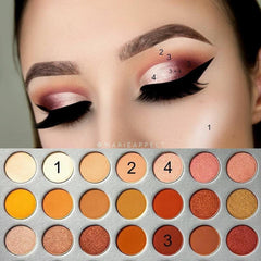 Morphe Jaclyn Hill Eye Shadow Palette - 35 Color - Liquidation Cart