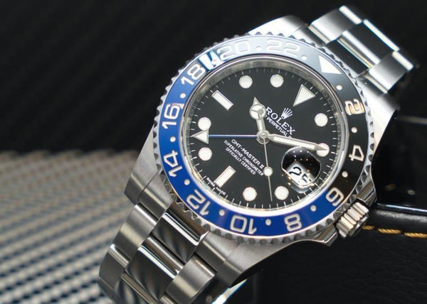 Rolex Oyster Perpetual GMT-Master ll, Silver